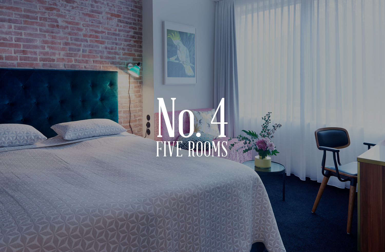 5Rooms-Hotel-Zimmer4-Leer